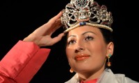 Tenzin Yangkyi, a 17 year-old Tibetan girl from Switzerland was crowned Miss T...ibet 2011. Photo: The Tibet Post International www.thetibetpost.com