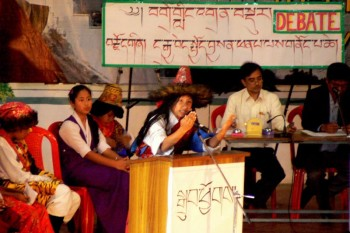 Tibetan Cultural and Exhibition Meet held at CST Mundgod, Indian State of Karnataka, South India. Photo: Outlook Tibet/file