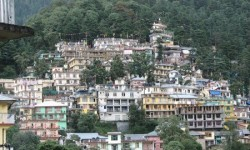 Hill town of McLeod Ganj, Dharamshala, H.P. India. Photo: Outlook Tibet