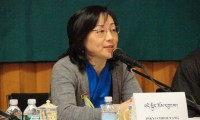 Ms. Dicki Chhoyang, information minister of the Tibetan government in exile. Photo: Outlook Tibet
