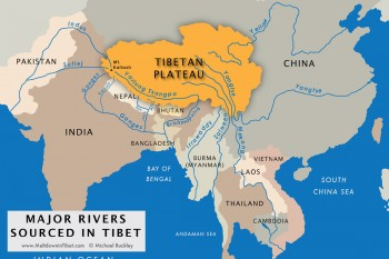 Approximately one billion people depend on the seven major rivers of Tibet. Photo: Free Tibet