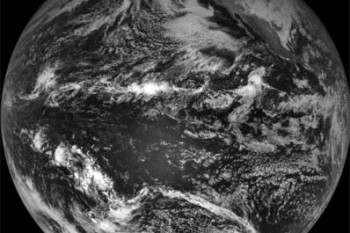 Final full-disk image from GOES 11. Credit: NOAA