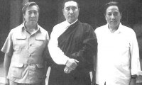 Gyalo Thondup (Dalai Lama's brother), the Panchen Lama and Phuntsok Wangyal. Photo: Media File