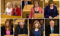 Members' Business - Scottish Parliament addresses Self-Immolations in Tibet : 4th February 2014. Photo: Media File