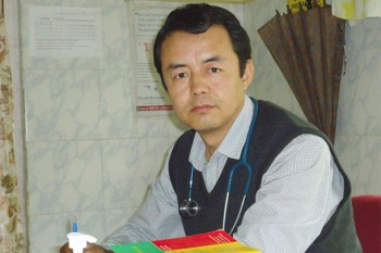 Dr. Tsering Wangchuk Minister, Department of Health, Central Tibetan Administration. Photo: TPI