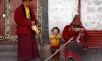 China rejects criticism that it has repressed Tibetan religious freedom and culture (Reuters photo)