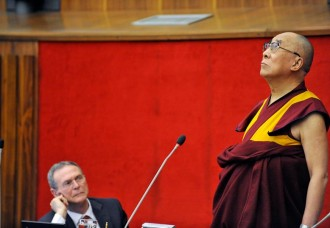 His Holiness the Dalai Lama Speaks About Happiness in a Troubled World