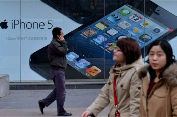 China is Apple's fastest growing market and the second-largest after the US. Photo: AFP/GETTY