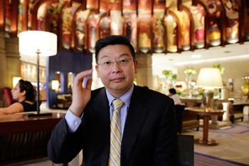 Open up or break up, Chinese dissident Yang Jianli tells China. Photo: Catch News