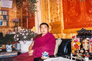 Outspoken Tibetan Buddhist monk Jigme Guri, also known as Labrang Jigmereleased from prison after 5-year term. Photo: TPI