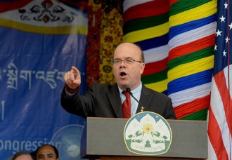 Congressman calls for new US policy on Tibet, urging US to raise Human rights