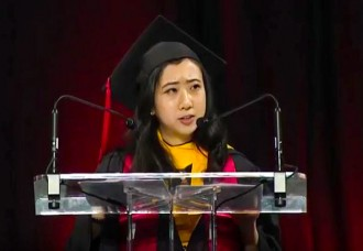 Communist China abuses student for praising freedom and democracy in US
