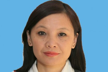 Loudon Aukatsang, currently serving her second term as an elected member of the Tibetan Parliament in Exile. Photo: File