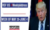 RSF's #WeeklyAddress on US press freedom: week of May 29 - June 4