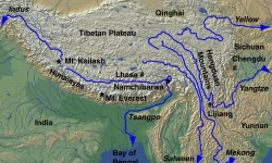 China-India Clash Over Chinese Claims to Tibetan Water.